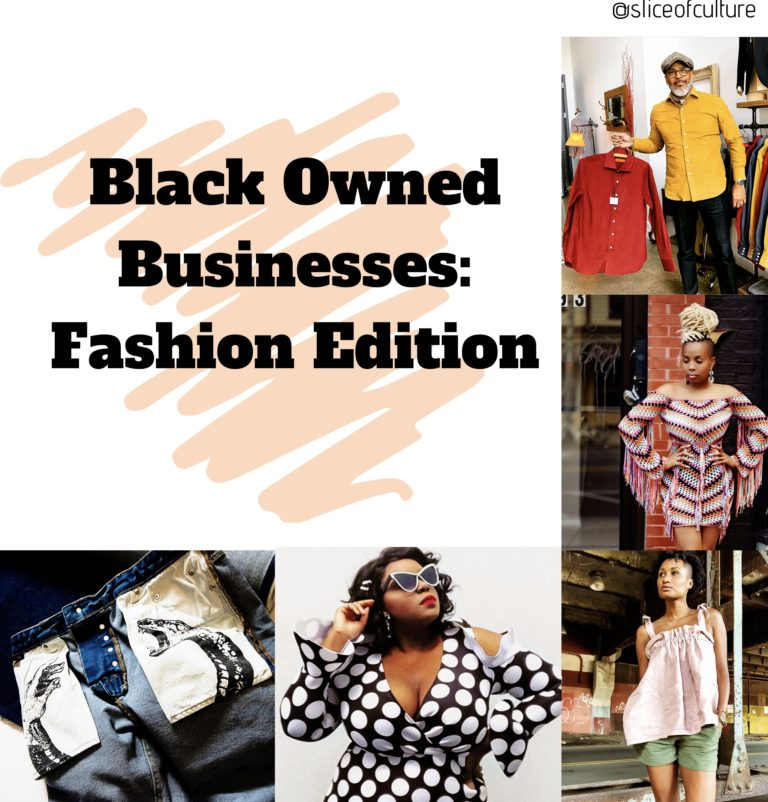 Black Owned Businesses: Fashion