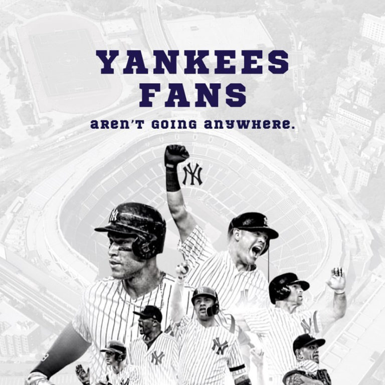 The Yankees haven't won a World Series in 11 years, but fans said they aren't going anywhere.