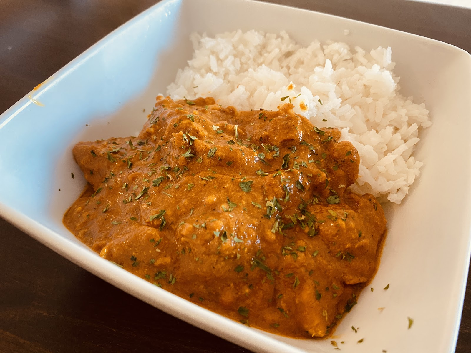 A Creamy Dish For The Winter — Tikka Masala