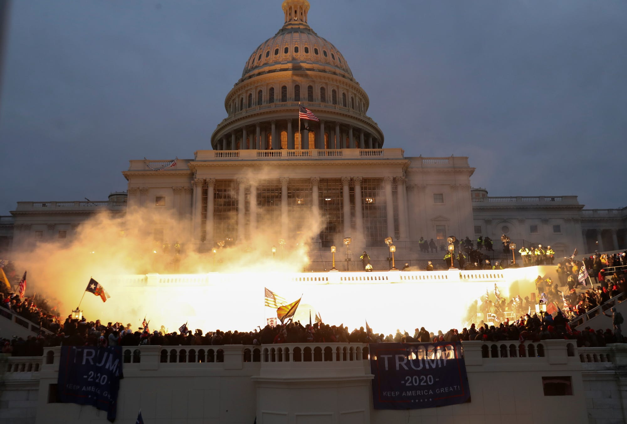 From Coronation to Insurrection, The Coup attempt on Capitol Hill