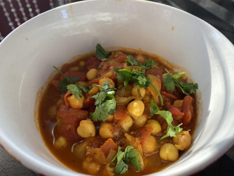 Chana Masala — A Creamy Vegetarian Stew