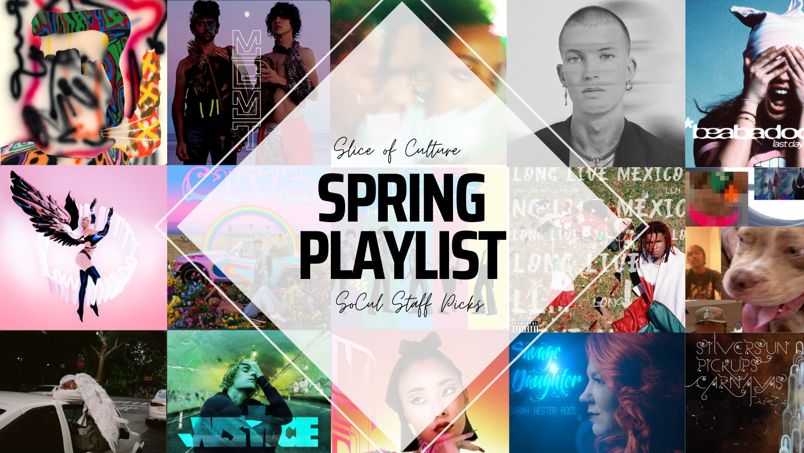 SoCul Staff Picks: We're Getting Spring Vibes From These 31 Songs