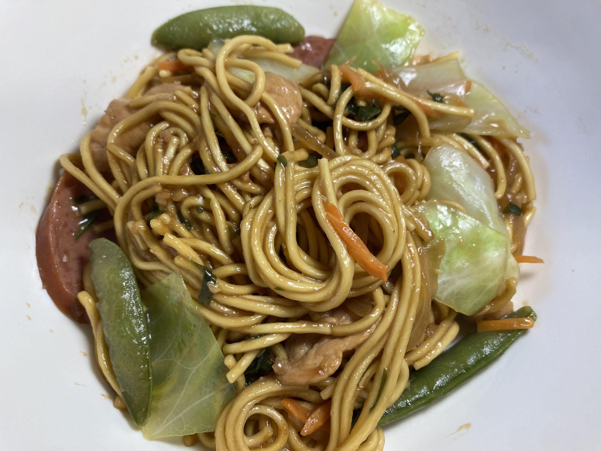 A Festive Filipino Dish — Pancit Canton