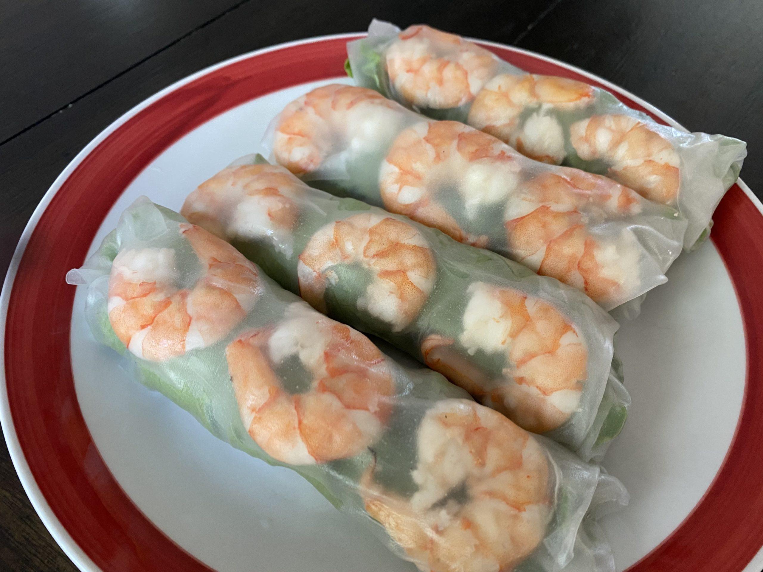 A Fresh, Summer Recipe — Vietnamese Spring Rolls (Gỏi cuốn)