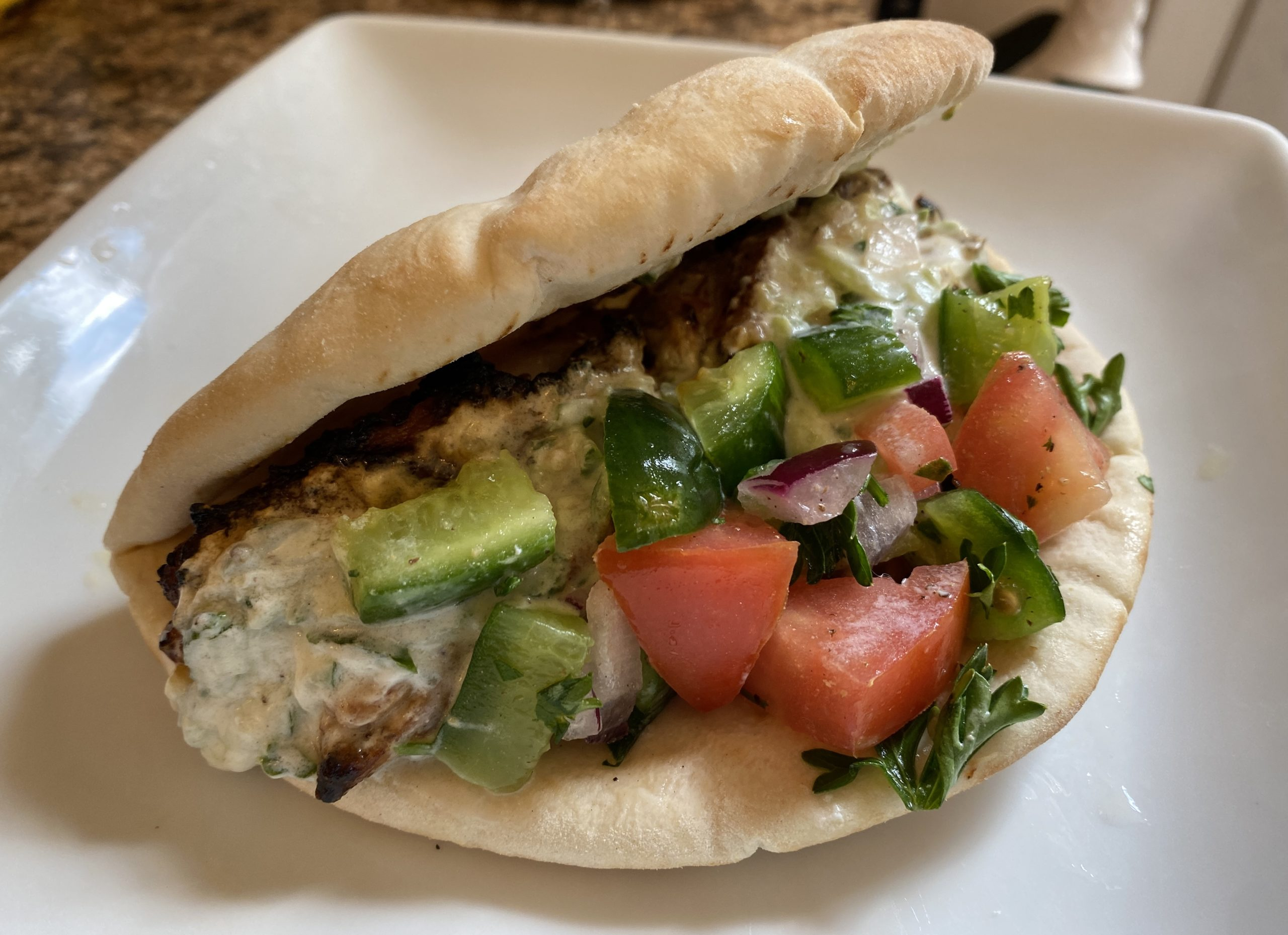 A Quick And Flavorful Recipe — Greek Chicken Gyros